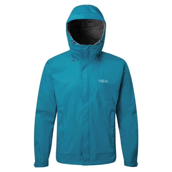Rab Downpour Jacket - Azure