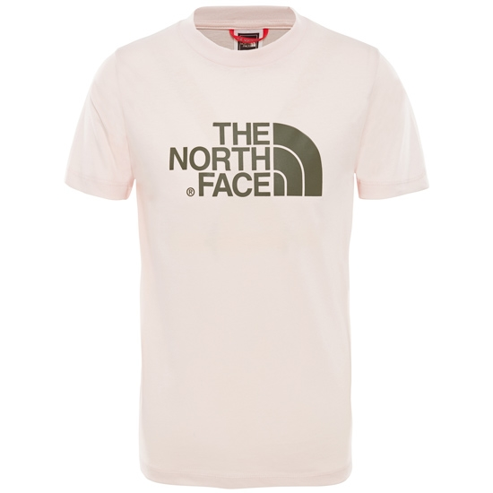 The North Face Easy Tee S/S Young - Purdy Pink