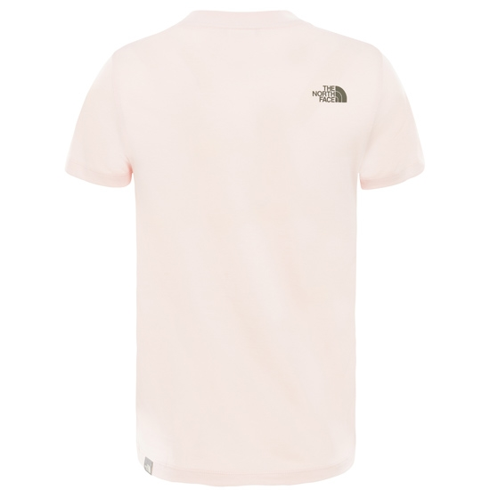 The North Face Easy Tee S/S Young - Detail Foto