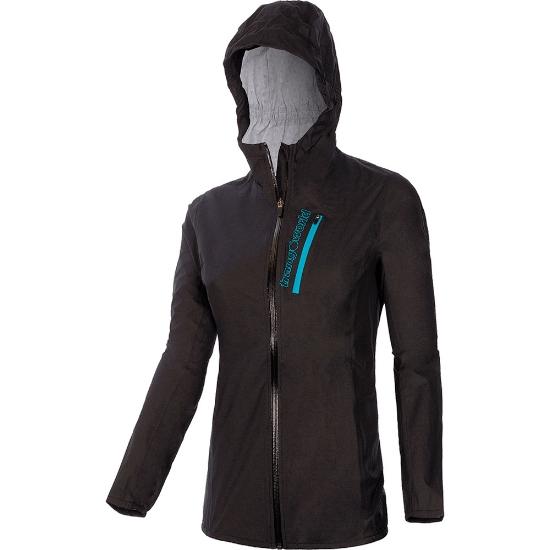 Trangoworld Ardisa Jacket W - Negro/Azul Turquesa