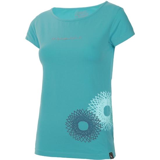 Trangoworld Camiseta Radiant W - Azul Verdoso