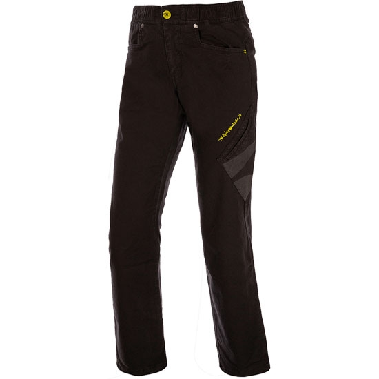 Trangoworld Pant. Largo Rivera W - Negro