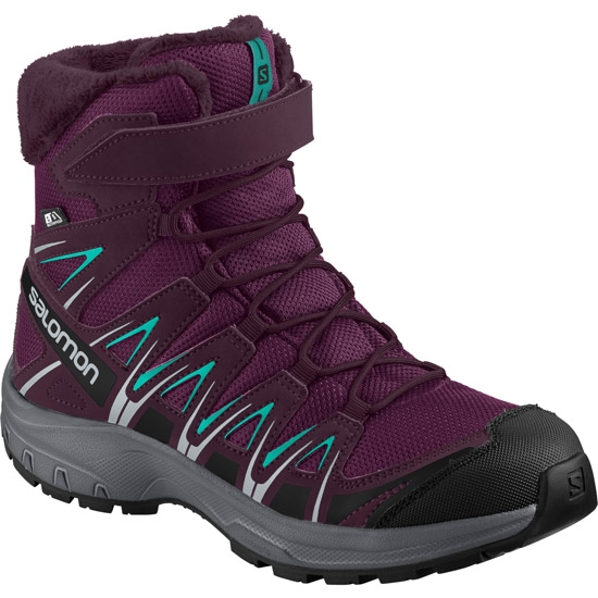 Salomon Xa Pro 3D Winter TS CS Jr - Dark Purple