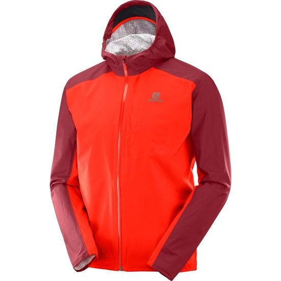 Salomon Bonatti WP Jacket - Fiery Red/Biking Red