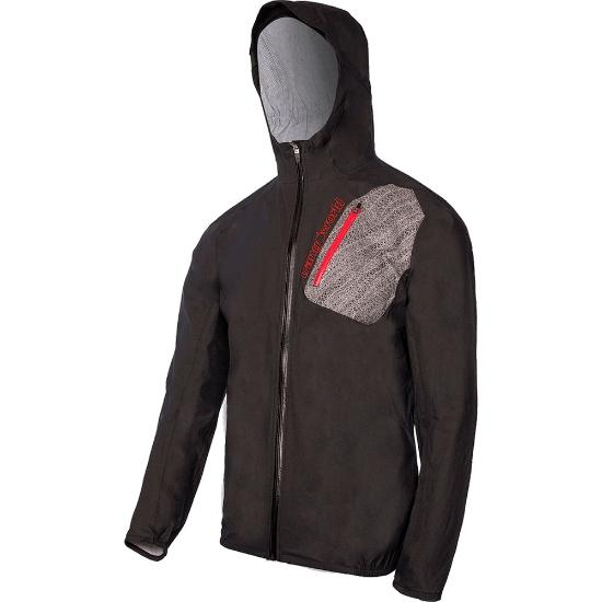 Trangoworld Naval Jacket - Negro/Rojo