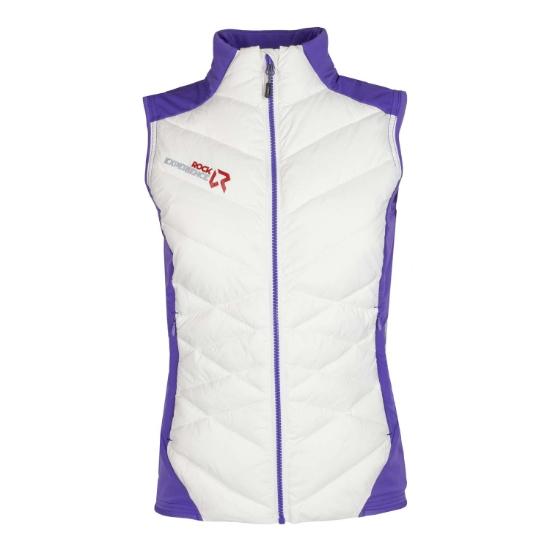 Rock Experience Maty Hybrid Vest W - Marshmarrow/Ultraviolet