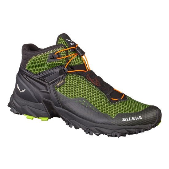 Salewa Ultra Flex Mid GTX - Cactus/Fluo Orange