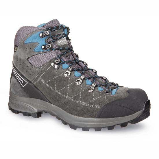 Scarpa Kailash Trek GTX - Shark-Gray/Lake Blue