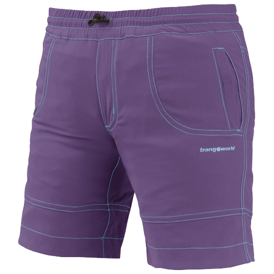 Trangoworld Pant. Corto Ossa - Purpura/Verde Arcadia
