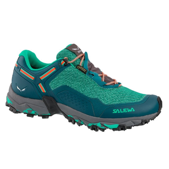 Salewa Speed Beat GTX W - Shaded Spruce/Fluo Coral