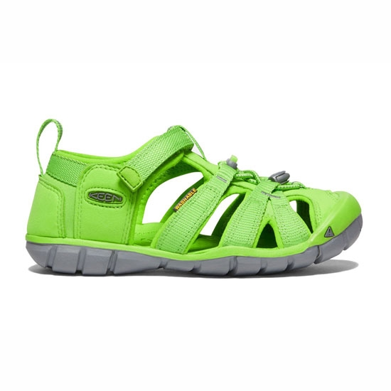 Keen Seacamp II CNX Big Kid - Vibrant Green