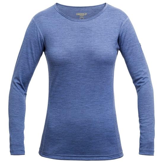 Devold Breeze Shirt W - Bluebell Melange