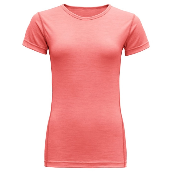 Devold Breeze T-Shirt W - Coral