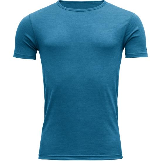 Devold Breeze T-Shirt - Blue Melange