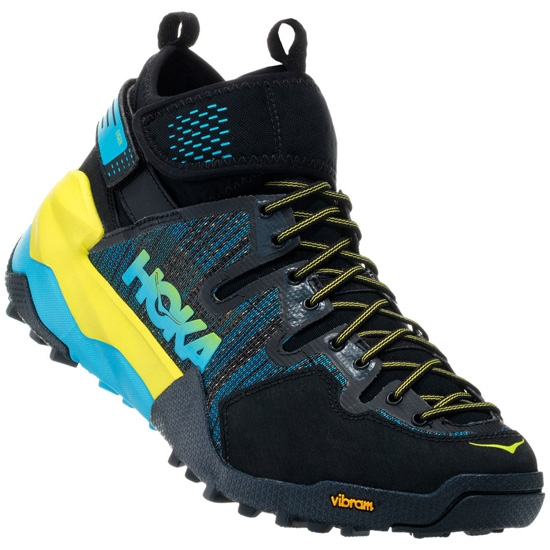 Hoka One One Sky Arkali - Black/Cyan/Citrus
