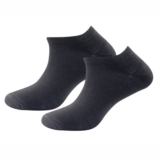 Devold Daily Shorty Sock 2Pack - Black