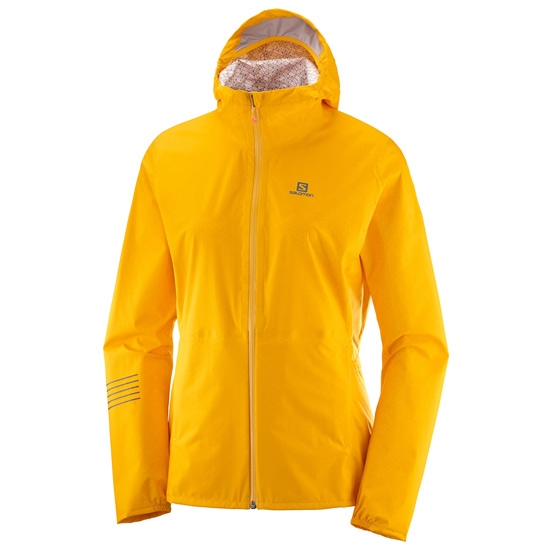 Salomon Lightning WP Jacket W - Saffron