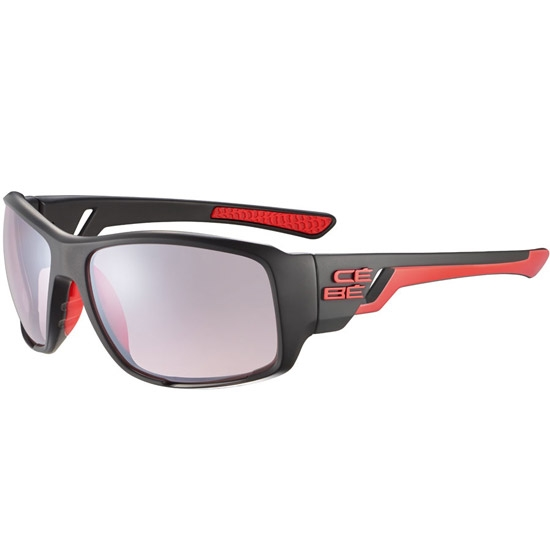 Cebe Northshore Sensor Vario Rose 1-3 - Matt Black Shiny Red