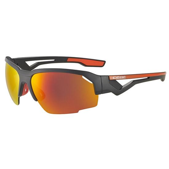 Cebe Hilldrop Zone 3+0 - Matt Grey Shiny Orange