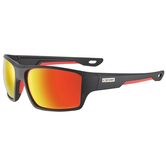 Cebe Strickland Zone Grey 3 - Soft Touch Black Red