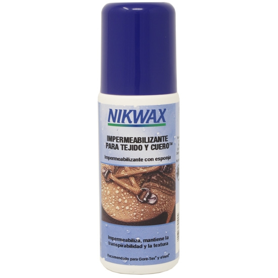 Nikwax Impermeabilizante para tejido y cuero 125ml -
