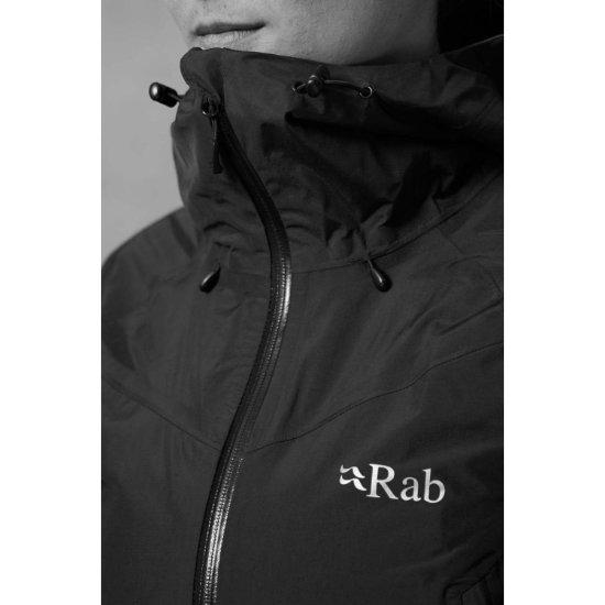 Rab Downpour Alpine Jacket W - Photo of detail