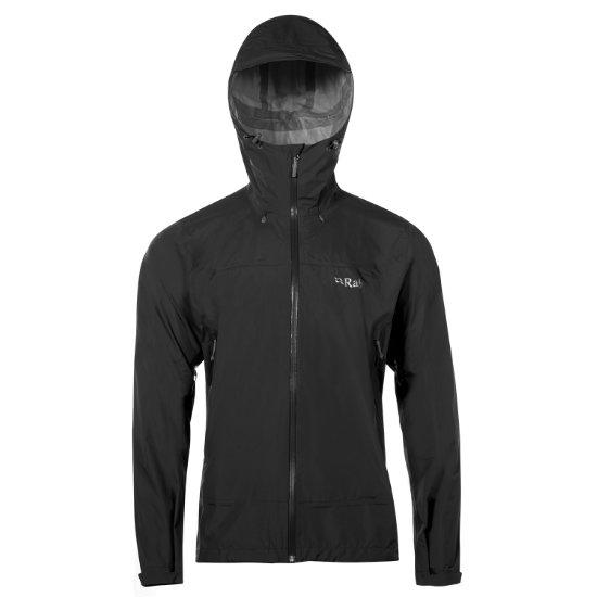 Rab Downpour Plus Jacket - Black
