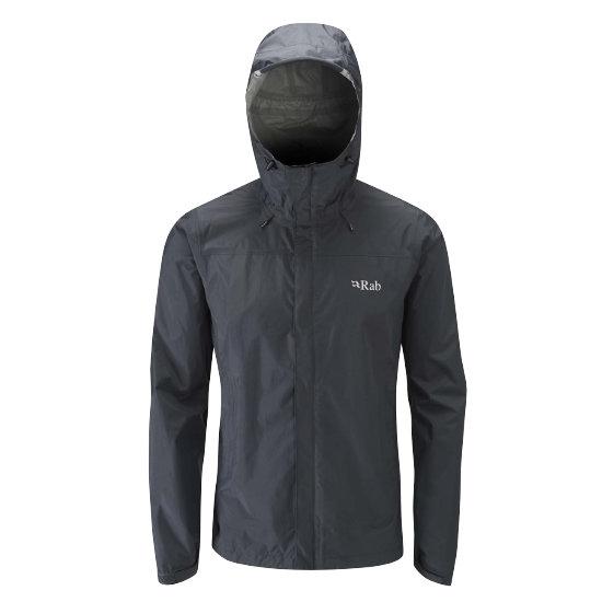 Rab Downpour Jacket - Black