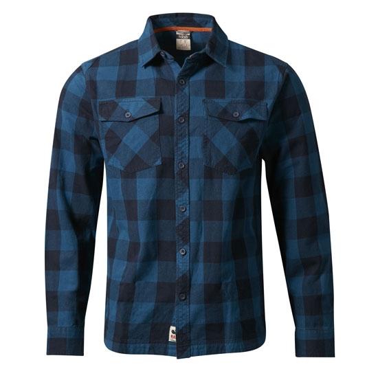 Rab Boundary Shirt - Indigo Denim