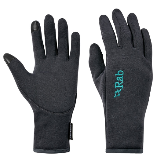 Rab Power Stretch Contact Glove W - Beluga