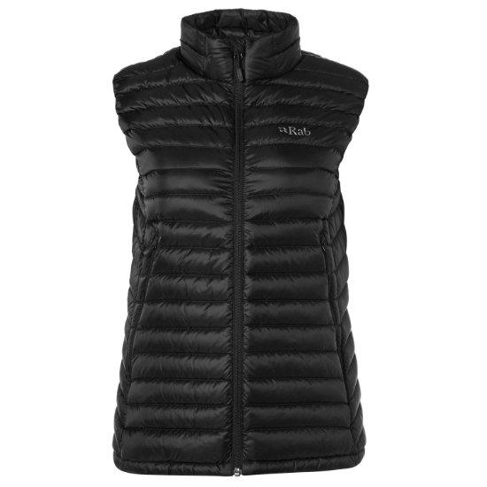 Rab Microlight Vest W - Black/Seaglass