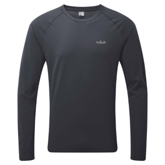 Rab Force Ls Tee - Steel