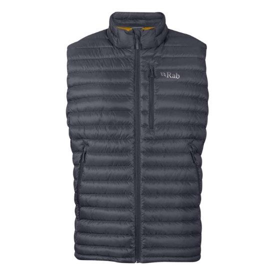Rab Microlight Vest - Beluga / Dijon