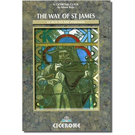 Ed. Cicerone Press The Way of St James: Le Puy to the Pyrenees -