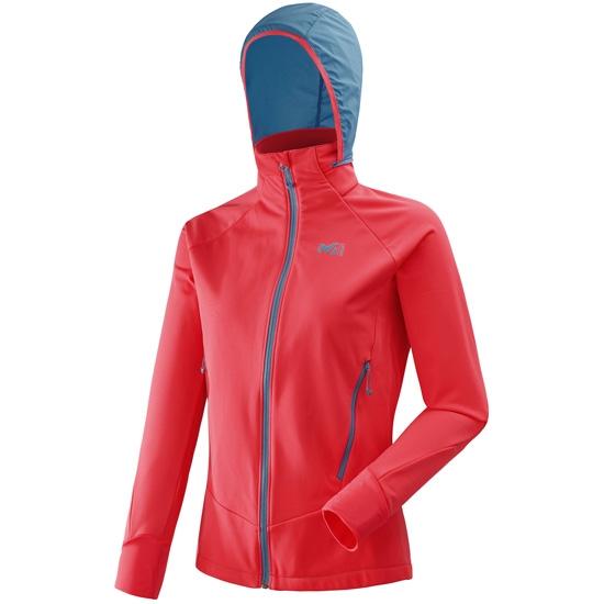 Millet Pierra Ment II Jacket W - Poppy Red/Cosmic Blue