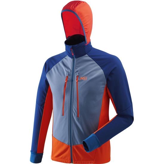 Millet Pierra Ment II Jacket - Orange/Poseidon
