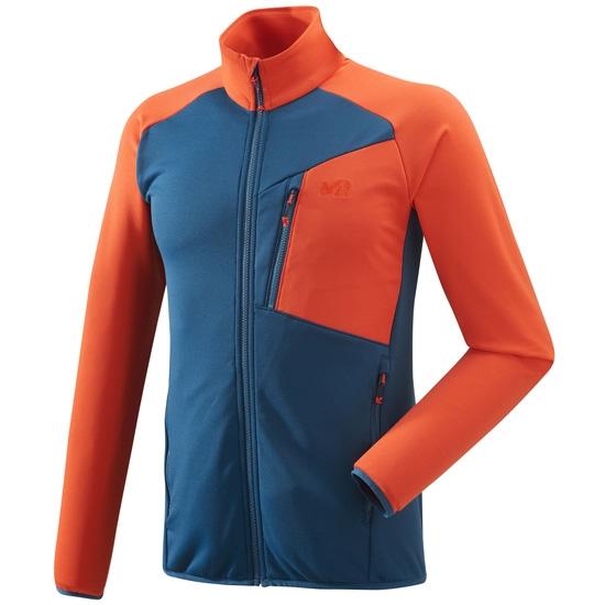 Millet Seneca Tecno Jacket - Poseidon/Orange