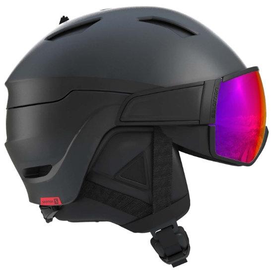 Salomon Driver - Black/Red Accent/solar