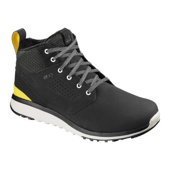 Salomon Utility Freeze CS WP - Black / Black / Empire Yellow