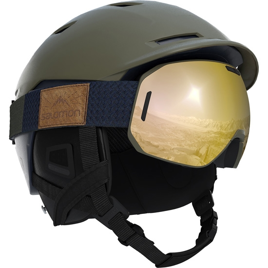 Salomon Sight Helmet - Photo of detail