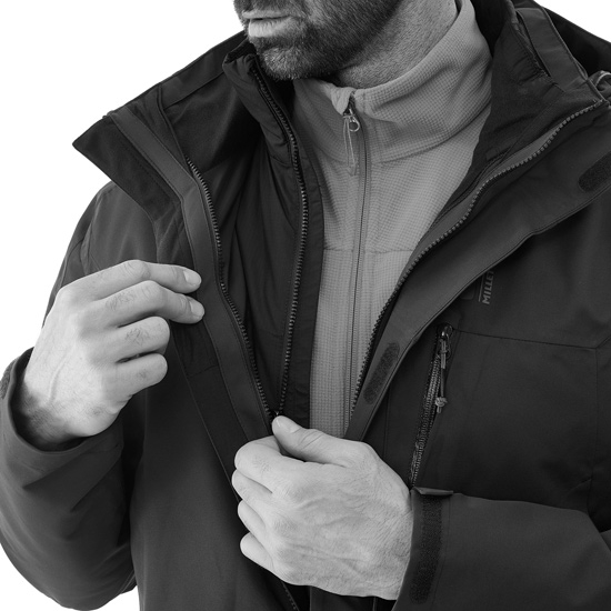 Millet Pobeda II 3in1 Jacket - Photo of detail