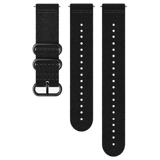 Suunto 24mm Explore 2 Textile Strap - Black