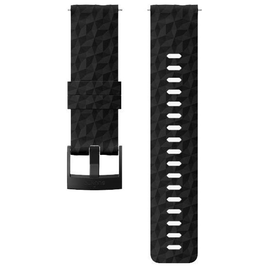 Suunto 24mm Explore 1 Silicon Strap - Black