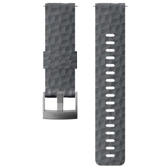 Suunto 24mm Explore 1 Silicon Strap - Graphite/Gray