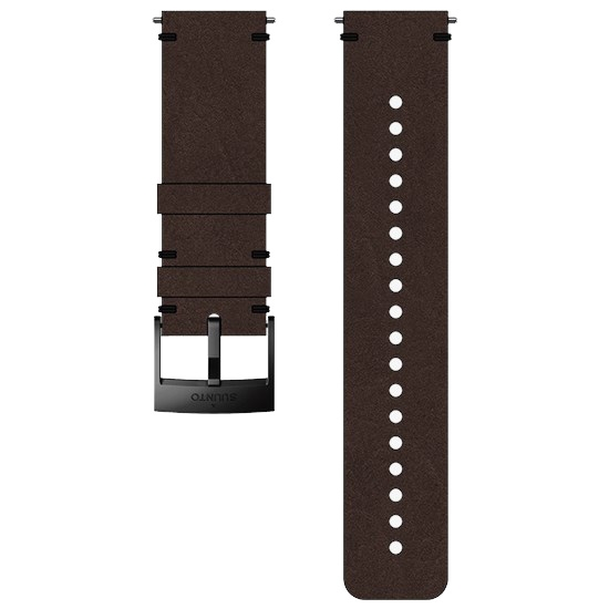 Suunto 24mm Urban 2 Leather Strap - Brown/Black