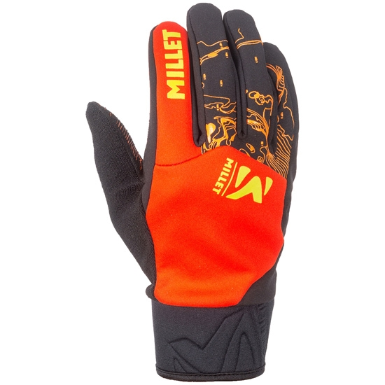 Millet Pierra Ment Glove - Orange