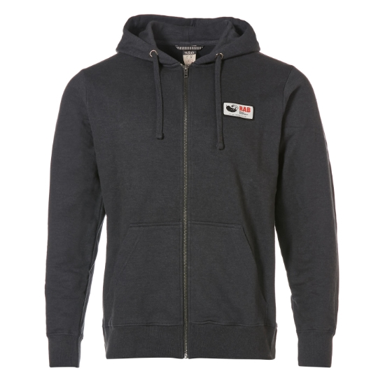 Rab Journey Zip Hoody - Grey Marl