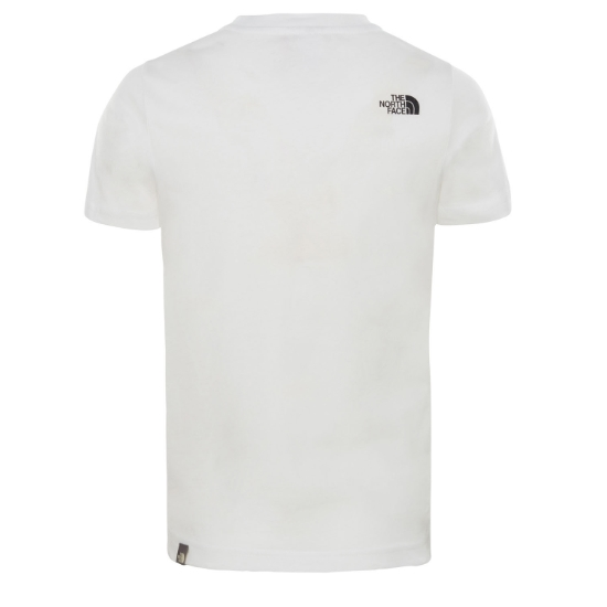 The North Face Dome Tee Youth - Photo of detail