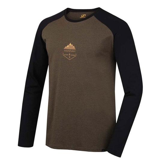 Hannah Nebu T-Shirt - Plantation mel/Anthracite
