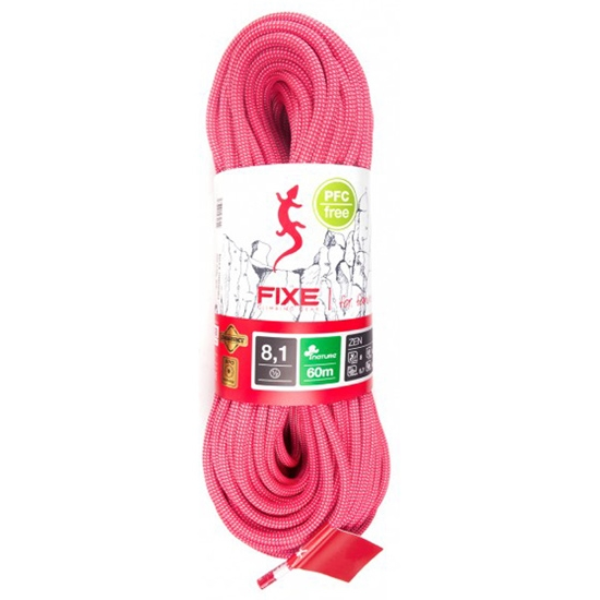 Fixe Zen 8,1 mm 60 m - Rosa-Blanco